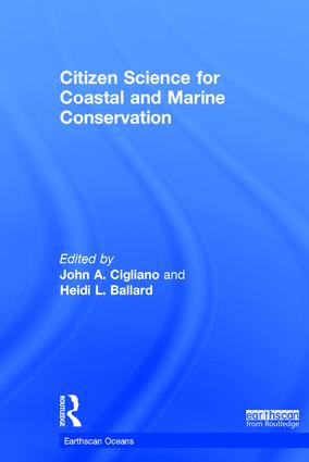 Citizen Science for Coastal and Marine Conservation book cover
