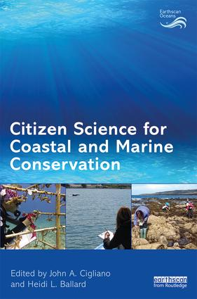 Citizen Science for Coastal and Marine Conservation: 1st Edition (Paperback) book cover