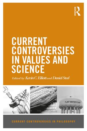 Current Controversies in Values and Science book cover