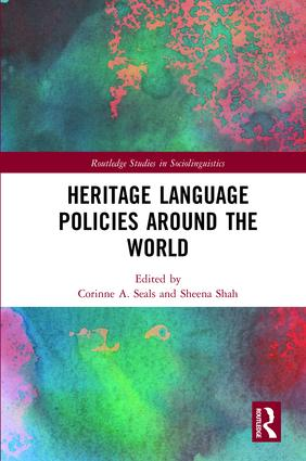 Heritage Language Policies around the World: 1st Edition (Paperback) book cover