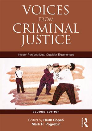 Voices from Criminal Justice: Insider Perspectives, Outsider Experiences book cover