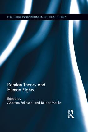 Kantian Theory and Human Rights book cover