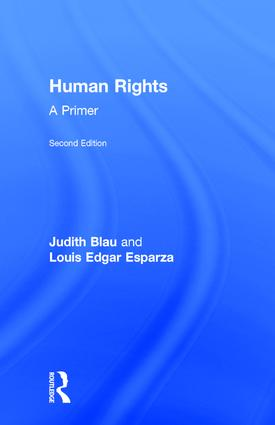 Human Rights: A Primer, 2nd Edition (Hardback) book cover