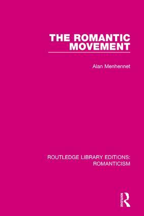 The Romantic Movement book cover
