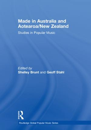 Made in Australia and Aotearoa/New Zealand: Studies in Popular Music book cover