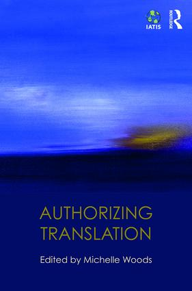 Authorizing Translation (Hardback) book cover