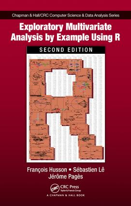 Exploratory Multivariate Analysis by Example Using R: 2nd Edition (e-Book) book cover