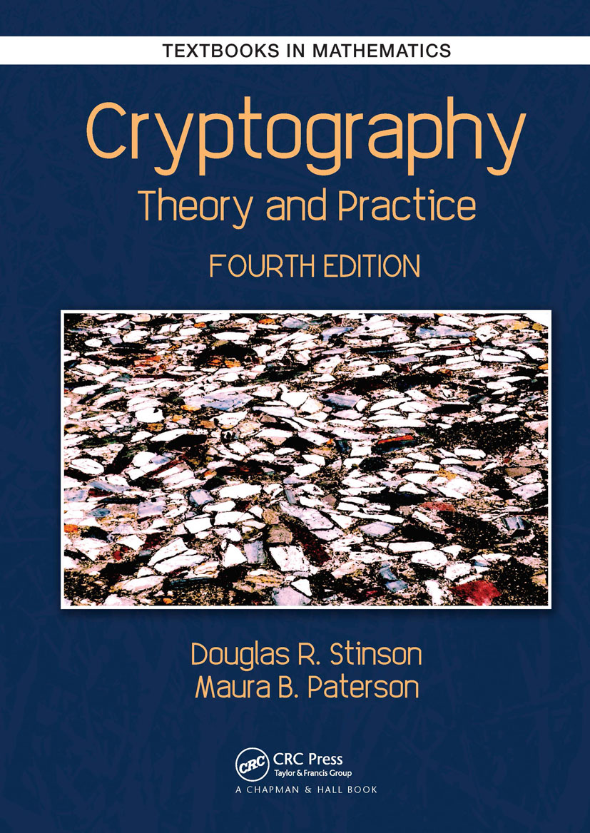 Cryptography: Theory and Practice book cover