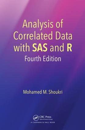 Analysis of Correlated Data with SAS and R: 4th Edition (Hardback) book cover