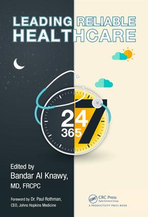 Leading Reliable Healthcare: 1st Edition (Hardback) book cover