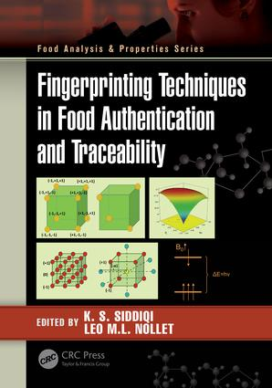 Fingerprinting Techniques in Food Authentication and Traceability book cover