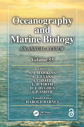 Oceanography and Marine Biology: An Annual Review, Volume 55 book cover