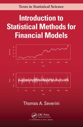 Introduction to Statistical Methods for Financial Models: 1st Edition (Hardback) book cover