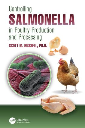Controlling Salmonella in Poultry Production and Processing: 1st Edition (Paperback) book cover