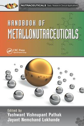 Handbook of Metallonutraceuticals book cover