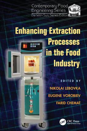 Enhancing Extraction Processes in the Food Industry: 1st Edition (Paperback) book cover