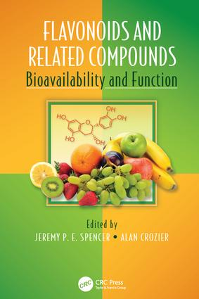 Flavonoids and Related Compounds: Bioavailability and Function, 1st Edition (Paperback) book cover