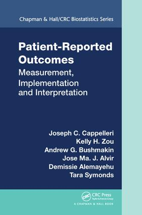 Patient-Reported Outcomes: Measurement, Implementation and Interpretation book cover
