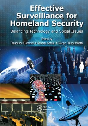 Effective Surveillance for Homeland Security: Balancing Technology and Social Issues book cover