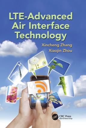 LTE-Advanced Air Interface Technology: 1st Edition (Paperback) book cover