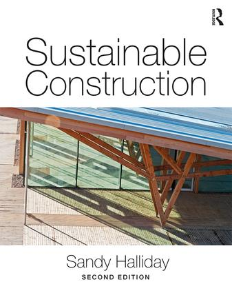 Sustainable Construction book cover
