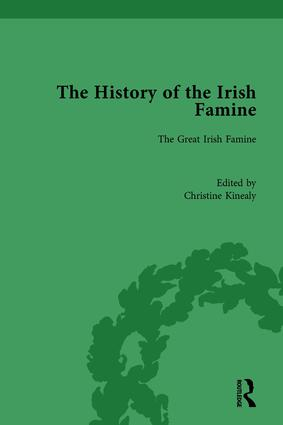 The History of the Irish Famine: Volume I: The Great Irish Famine book cover