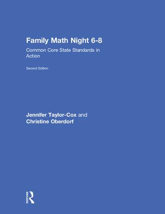 Family Math Night 6-8: Common Core State Standards in Action book cover