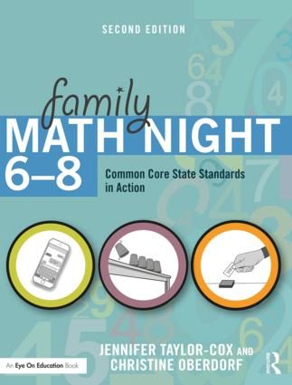 Family Math Night 6-8: Common Core State Standards in Action, 2nd Edition (Paperback) book cover