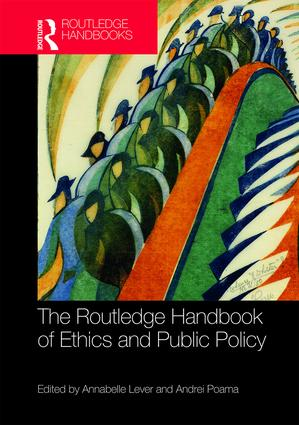The Routledge Handbook of Ethics and Public Policy: 1st Edition (Hardback) book cover