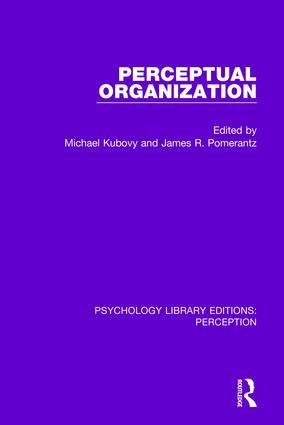 Perceptual Organization: 1st Edition (Paperback) book cover