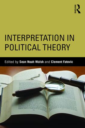 Interpretation in Political Theory