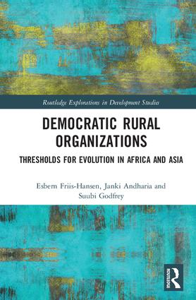 Democratic Rural Organizations: Thresholds for Evolution in Africa and Asia book cover