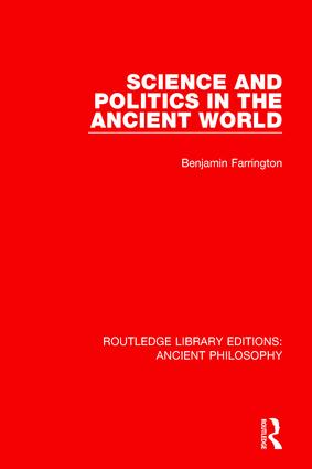 Science and Politics in the Ancient World