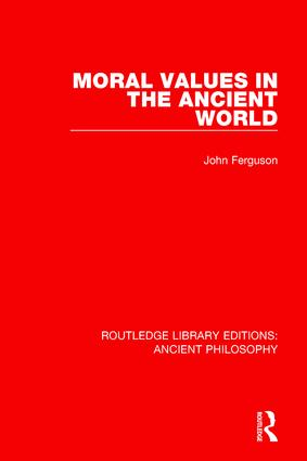 Moral Values in the Ancient World book cover