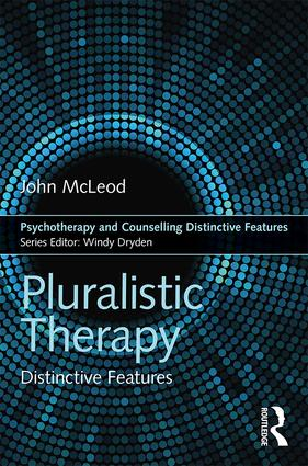 Pluralistic Therapy: Distinctive Features (Paperback) book cover