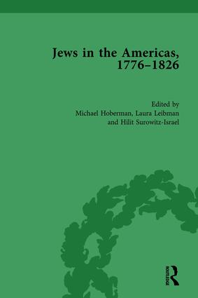 Jews in the Americas, 1776-1826 book cover