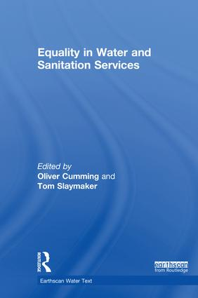 Equality in Water and Sanitation Services: 1st Edition (Hardback) book cover