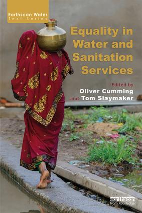 Equality in Water and Sanitation Services: 1st Edition (e-Book) book cover