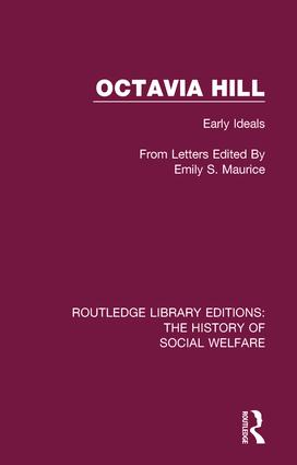 Octavia Hill: Early Ideals., 1st Edition (Paperback) book cover