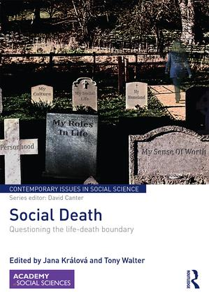 Social Death: Questioning the life-death boundary book cover