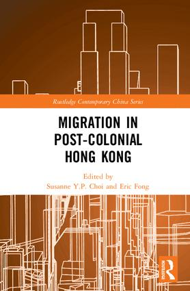 Migration in Post-Colonial Hong Kong book cover