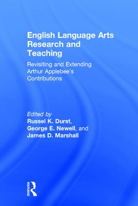 English Language Arts Research and Teaching: Revisiting and Extending Arthur Applebee's Contributions book cover