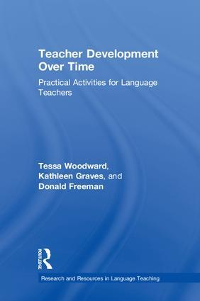 Teacher Development Over Time: Practical Activities for Language Teachers book cover
