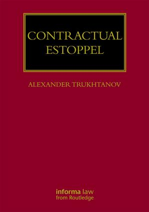 Contractual Estoppel book cover