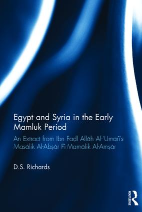 Egypt and Syria in the Early Mamluk Period
