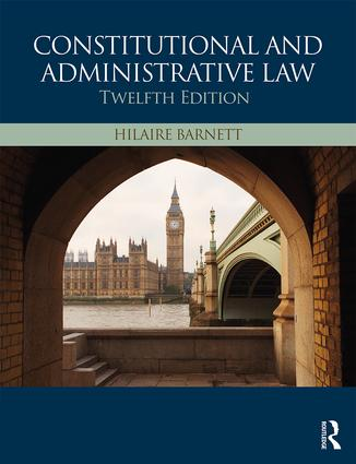 Constitutional & Administrative Law: 12th Edition (Paperback) book cover