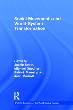 Social Movements and World-System Transformation: 1st Edition (Hardback) book cover