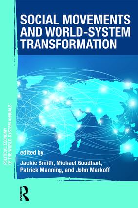 Social Movements and World-System Transformation: 1st Edition (Paperback) book cover