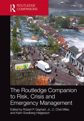 The Routledge Companion to Risk, Crisis and Emergency Management book cover