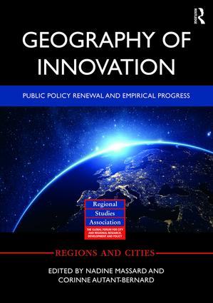 Geography of Innovation: Public Policy Renewal and Empirical Progress (Hardback) book cover